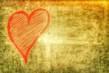 love heart - vintage