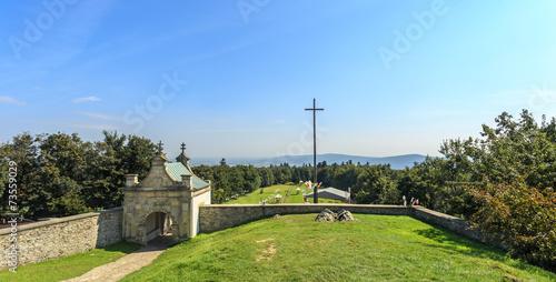 Brama wschodnia do klasztoru, Święty Krzyż,Góry Świętokrzyskie