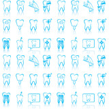 Fototapety Smiling dental icons