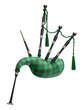 Green bagpipe - 73559481