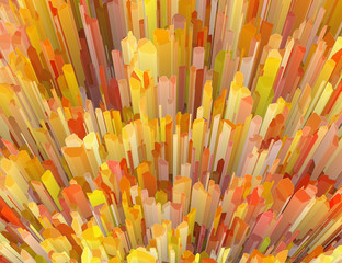 multicolored crystal burst abstract texture