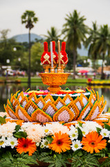 Thai flower decoration