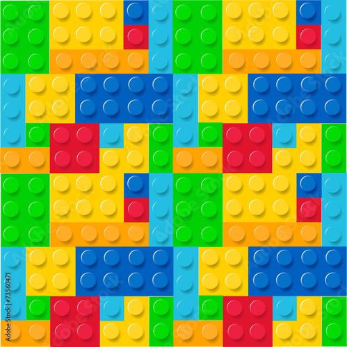 Lego pattern vector