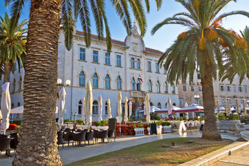 UNESCO town of Trogir waterfront architecture