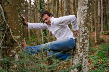 Giocare fra gli alberi