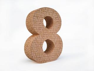 Brick Number Eight