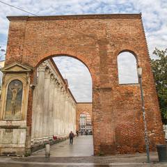 Milan, columns of St. Lawrence
