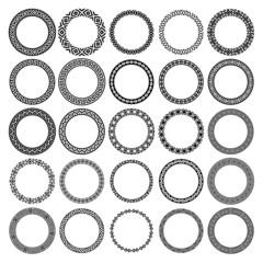 Mega set of 25 the most popular round frames