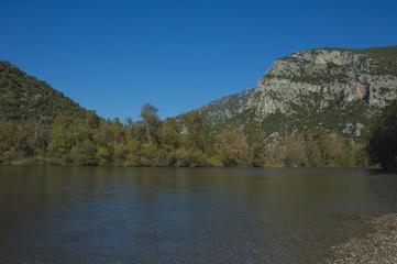 Autumn portrait at Nestos river
