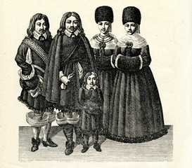 Riga (Latvia) citizens, 17 century