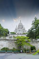 Sacre-Coeur Basilica on Montmartre
