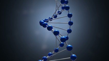 decomposition DNA,explosion DNA,3d animation,loop
