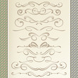 Graceful Calligraphic Dividers and Vignettes - 73563806