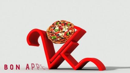 Anno nuovo 2015 pizza e buon appetito