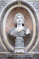 roman emperor bas relief