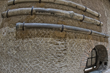 roman ancient lead pipe
