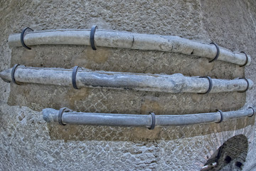 roman ancient lead pipe