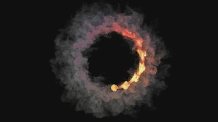 circle fireball