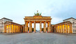 Brandenburg gate panorama in Berlin, Germany - 73567424