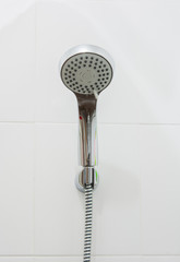 close up head shower