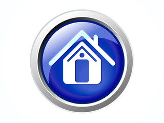 abstract shiny home icon