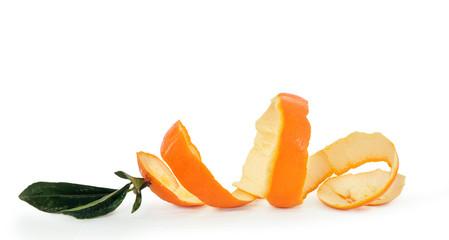 Scorza d'arancia a spirale