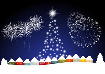 Frohe Weihnachten und eine gutes neues Jahr