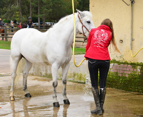 France, the equestrian center of Le Touquet
