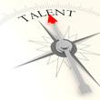 Постер, плакат: Talent compass