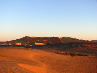 Moroccan Erg Chebbi Sahara with Hotels