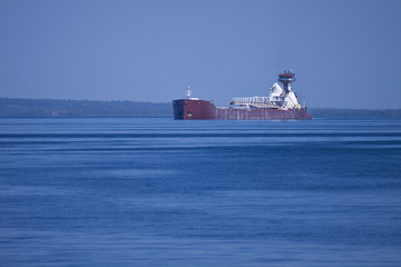 Ship On Lake Michigan