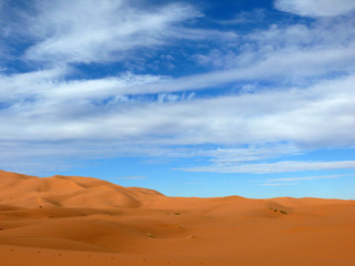 The Erg Chebbi Sahara Desert of Morocco