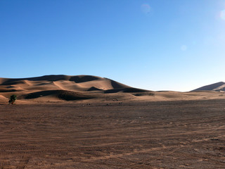 Wastelands at Beginning of Sahara Desert