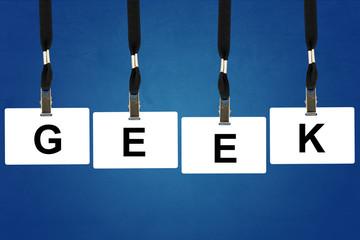 geek (slang) word