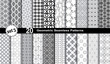 Fototapeta - Geometryczne wzory bez szwu