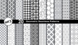 Geometric Seamless Patterns. poster