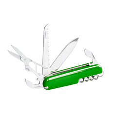 Green swiss knife
