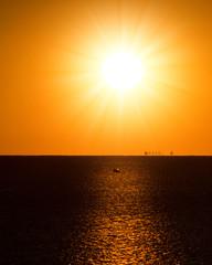 Sundown Serenity Path to the Night