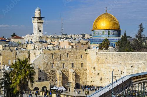 Deurstickers Midden Oosten Jerusalem, Israel Old City