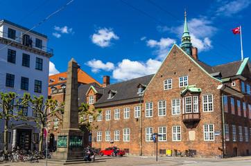 Bispetorv and Bishop's House in Copenhagen, Denmark