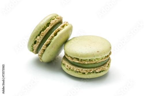 Fotobehang Bakkerij macaron pistaches