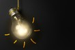 Glühbirne - Kreativität - Idee - Konzept