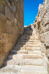 Cyprus - ancient ruins at Kourion