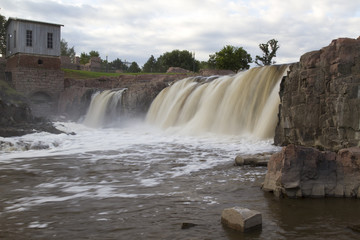 Sioux Falls Waterfall