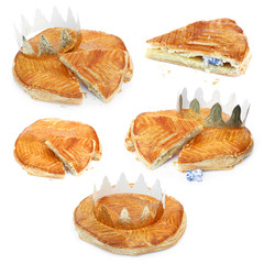 Galette des rois - French pastry