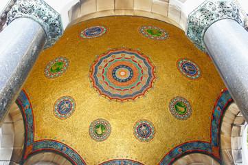 Tugra on mosaics