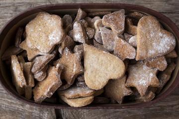 gingerbread homemade cookies