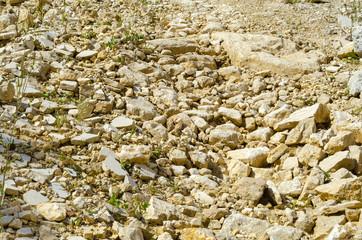 Weg aus Stein