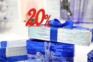 20% скидка и подарки