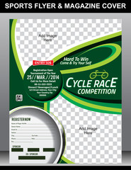Sports Flyer & Magazine Cover Template
